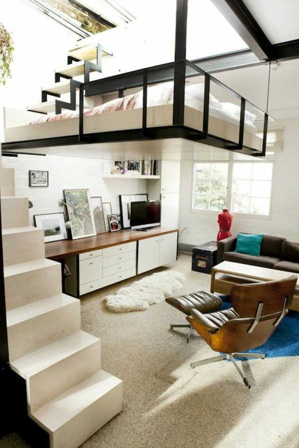 Das hochbett ein traumbett f r kinder und erwachsene - Hochbett jugendzimmer ...