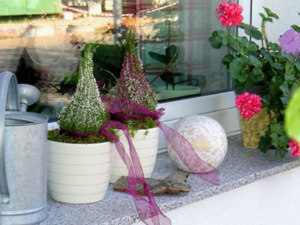 Besonders reizvolle Fensterbank Deko  Archzinenet