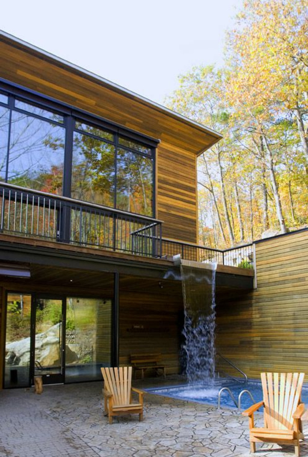 Design Ferienhaus villen acht einheiten pool entspannung