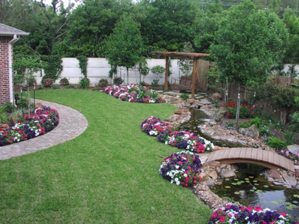 Lassen sie sich vom feng shui garten inspirieren for Half acre backyard landscaping ideas
