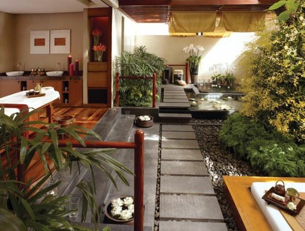 lassen sie sich vom feng shui garten inspirieren. Black Bedroom Furniture Sets. Home Design Ideas