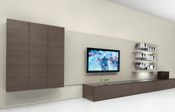 Moderne tv eckmöbel  Moderner Tv Stander Birkenholz – Modernise.info