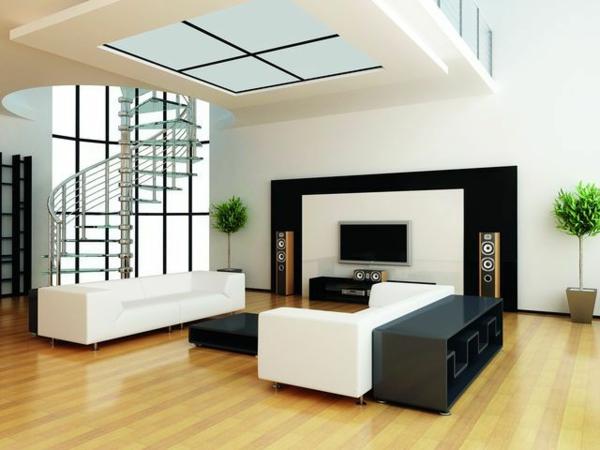 wohnzimmer gestalten wohnzimmer einrichten wandpaneele tv wand ... - Fernsehwand Ideen