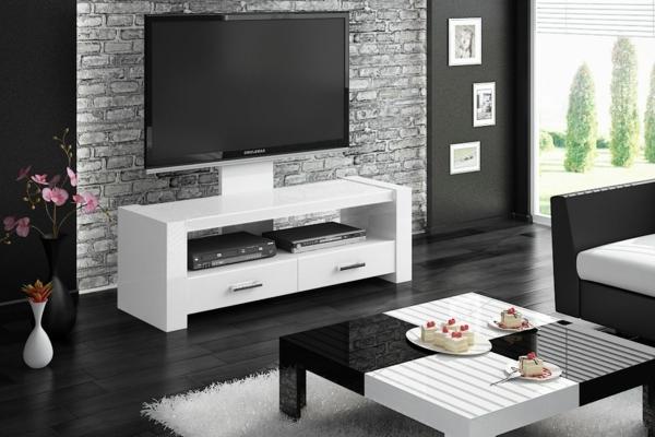 fernsehschrank-weiß-tv-möbel-ideen-weißer-schrank