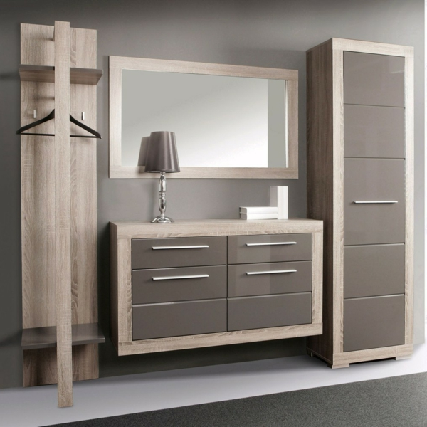garderobenm bel moderne und funktionelle vorschl ge. Black Bedroom Furniture Sets. Home Design Ideas