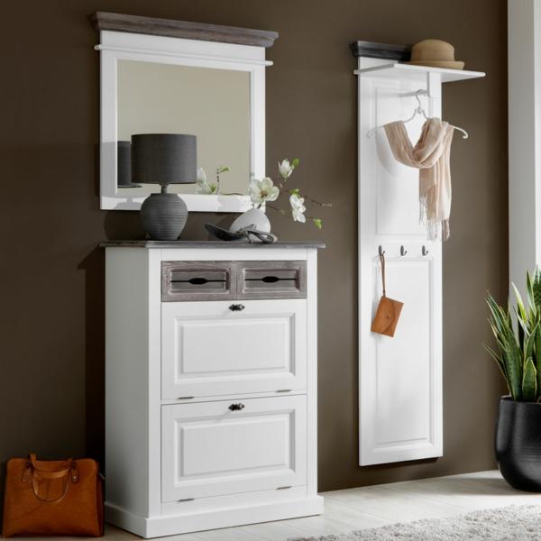 garderobenm bel moderne und funktionelle vorschl ge. Black Bedroom Furniture Sets. Home Design Ideas