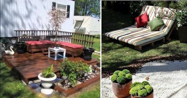 garten-loungemöbel-aus-paletten-zwei-inspirierende-bilder