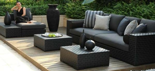 Garten Loungemöbel Schöne Sofas Und Kaffeetische