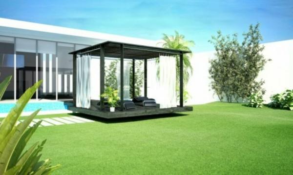 garten lounge uberdacht – proxyagent, Terrassen ideen