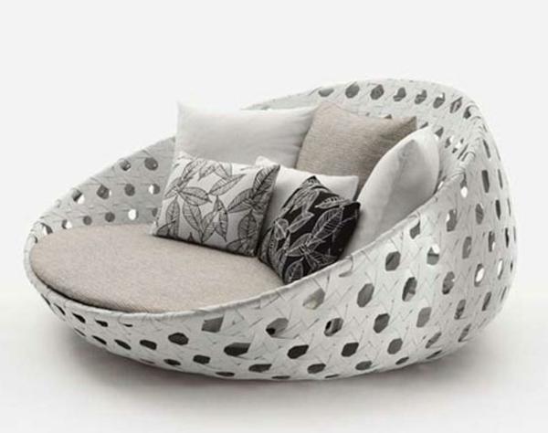 garten-loungemöbel-weißer-moderner-sessel