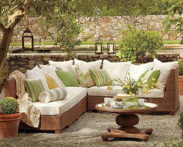 Lounge ecksofa garten  Garten Loungemöbel für eine herrliche Atmosphäre! - Archzine.net