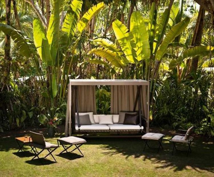 Gartenschaukel zur entspannung pur - Garten himmelbett ...
