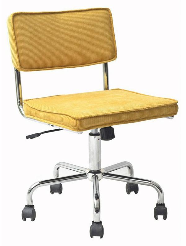 gelbe-Bürostühle-mit-schönem-Design-Interior-Design-Ideen
