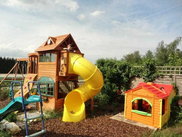 Klettergerüst Selbst Gebaut : Speziell für kinder: klettergerüst im garten! archzine.net