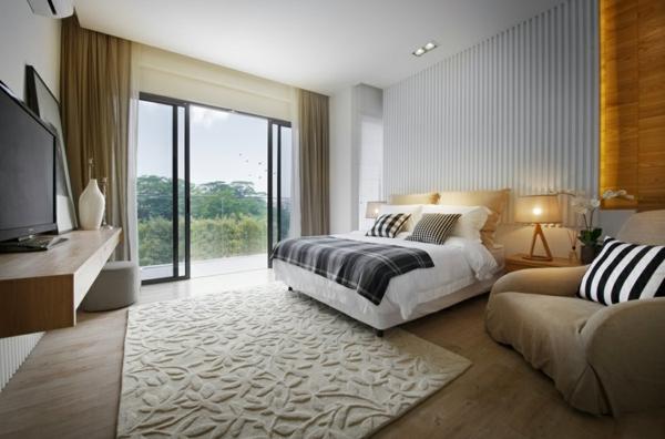 Modernes Schlafzimmer einrichten - 99 schöne Ideen!