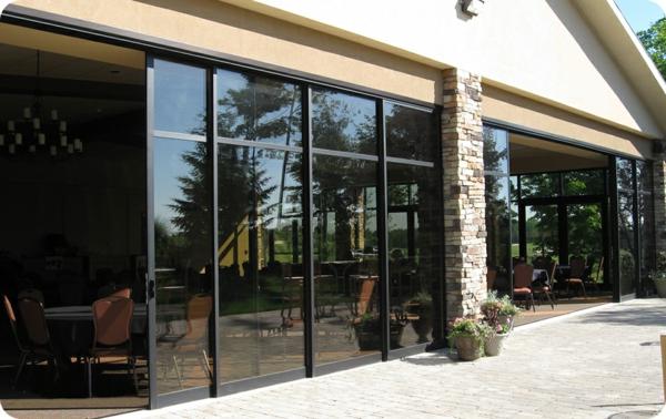 glasschiebet ren mit modernem design. Black Bedroom Furniture Sets. Home Design Ideas