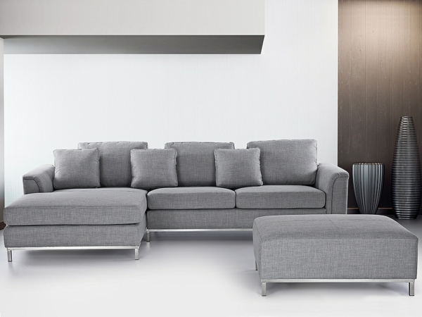 ecksofa 105 wunderbare modelle f r ihre wohnung. Black Bedroom Furniture Sets. Home Design Ideas