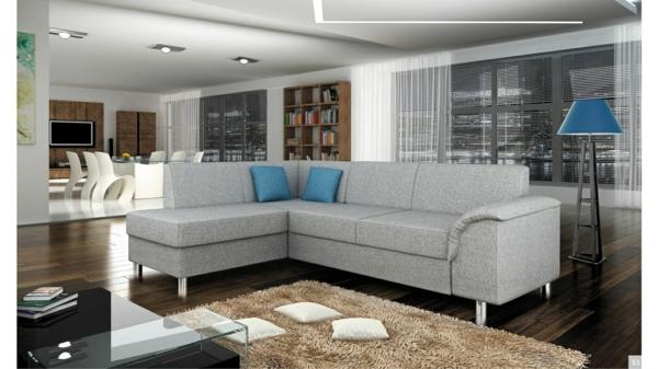 Ecksofa - 105 wunderbare Modelle für Ihre Wohnung!