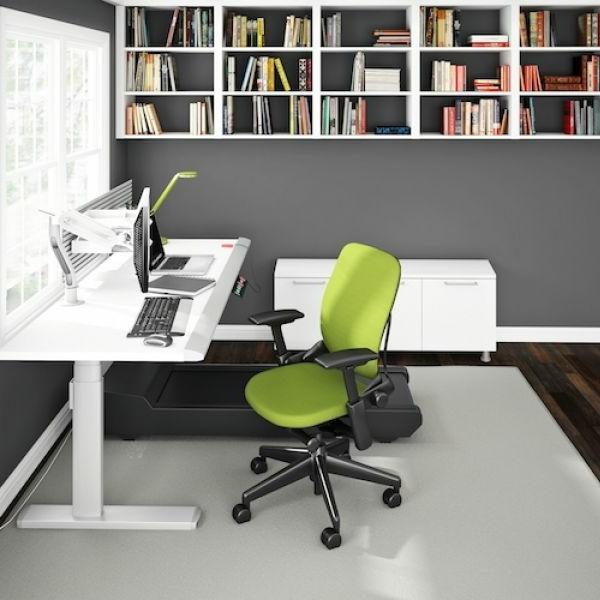 grellgrüne-Bürostühle-mit-schönem-Design-Interior-Design-Ideen