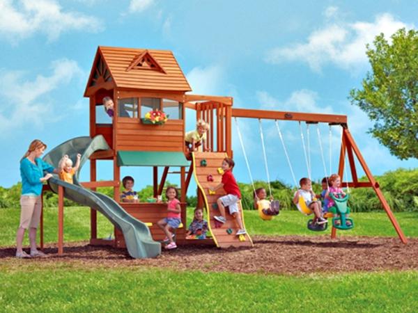 Speziell für Kinder: Klettergerüst im Garten! - Archzine.net