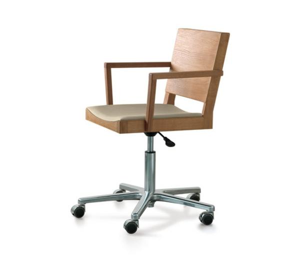 hölzerne-Bürostühle-mit-schönem-Design-Interior-Design-Ideen