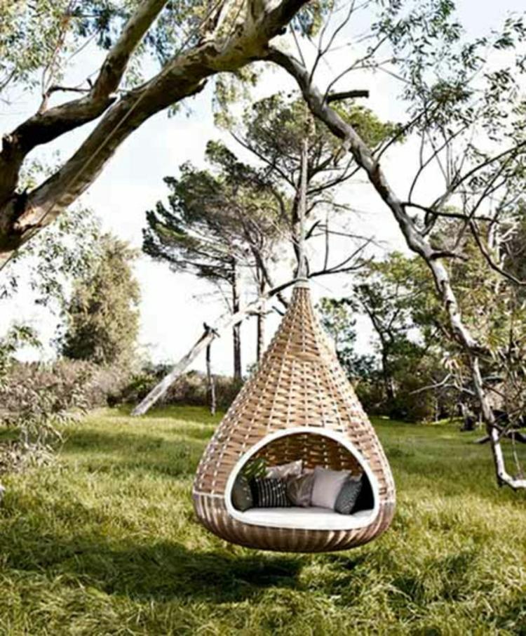 Gartenschaukel Zur Entspannung Pur Archzine Net