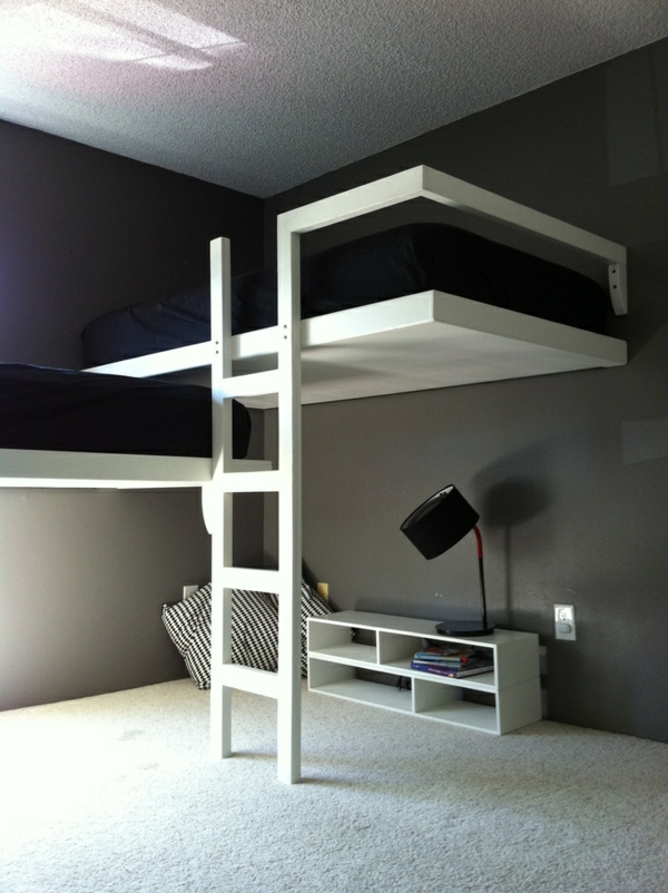 Cheap Twin Loft Bed With Desk