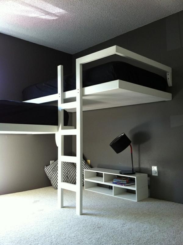 Das Hochbett - ein Traumbett für Kinder und Erwachsene