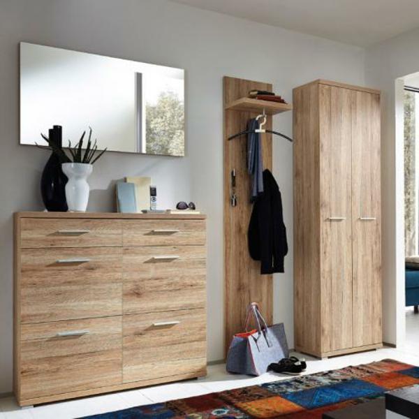 hochwertige-Dielenmöbel-Hochschrank-Wandhaken-
