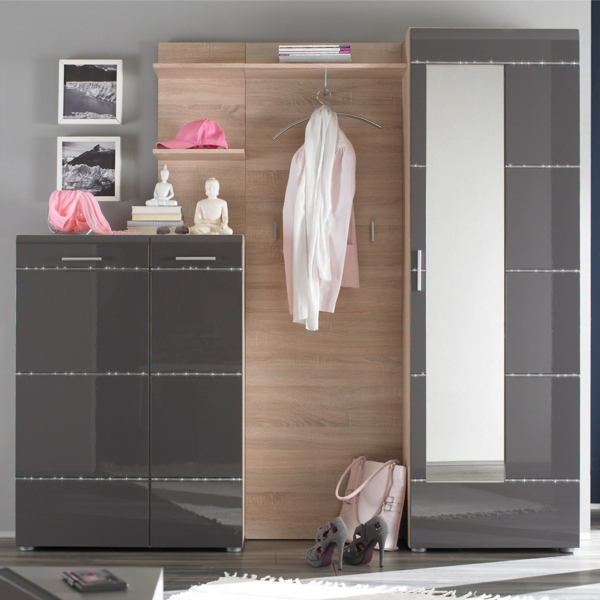 Garderobenm bel moderne und funktionelle vorschl ge for Dielenschrank modern