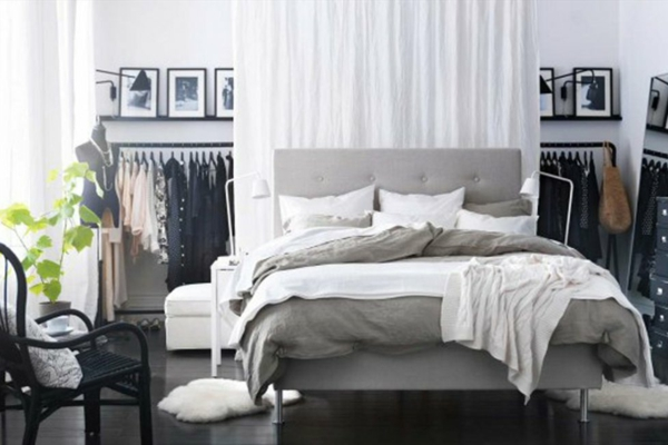 schlafzimmer inspiration 50 super fotos. Black Bedroom Furniture Sets. Home Design Ideas