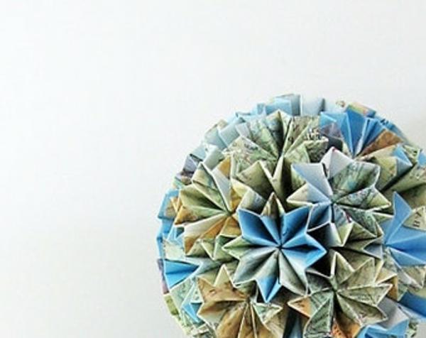 blumen-origami-weltkarte-gefaltet