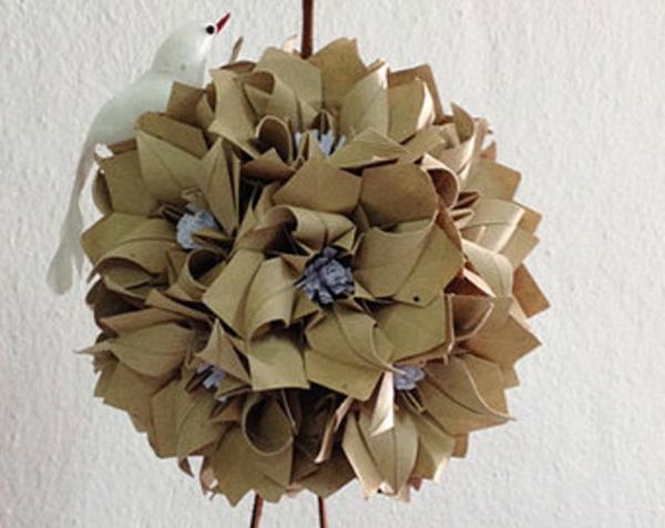 origami-kugel-blumen-gefaltet