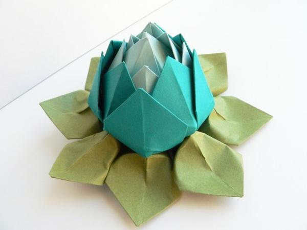 origami-wasserlilie-originell