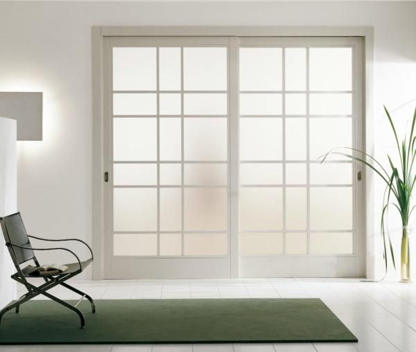interior-design-ideen-weiße-innentüren-schöne-wohnideen-glastüren