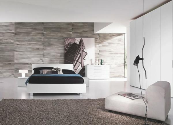 modernes schlafzimmer italienische ganz moderne helle gestaltung komplett