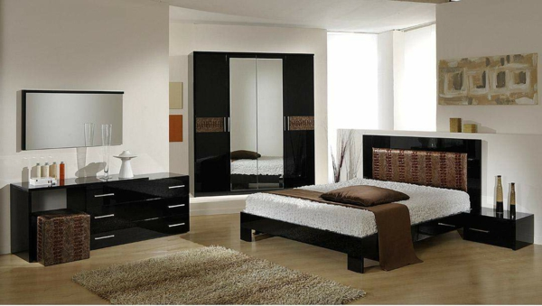 italienische-schlafzimmer-kontrastierende-farben