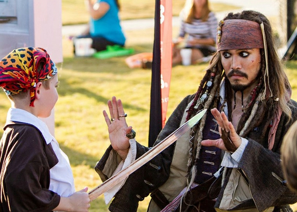 kinderparty machen - piratschminken