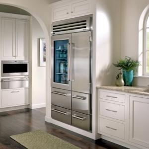 Glastürkühlschrank - eine interessante Idee für Ihre Küche!