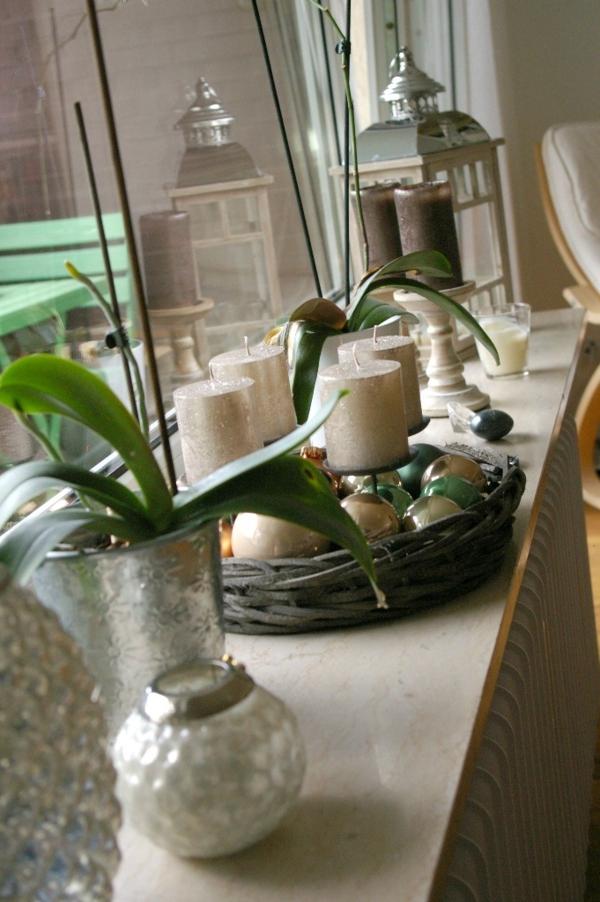 Besonders reizvolle Fensterbank Deko - Archzine.net