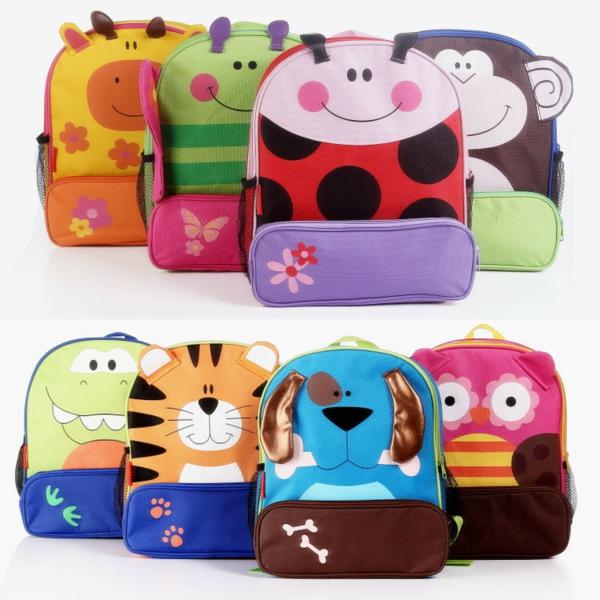 super süße bunte rucksäcke für kindergarten