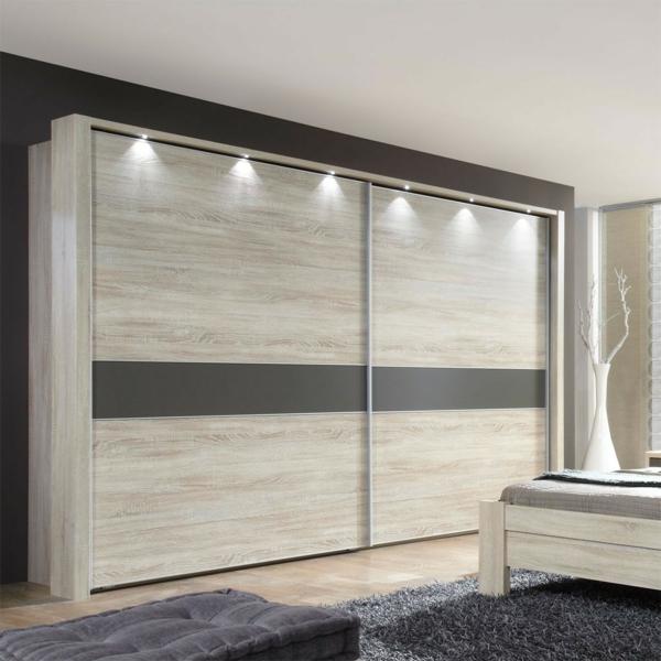 kleiderschrank schiebet ren holz. Black Bedroom Furniture Sets. Home Design Ideas