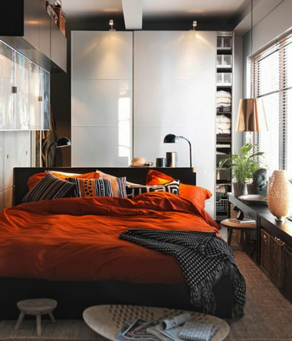 einrichtungsideen kleines schlafzimmer. Black Bedroom Furniture Sets. Home Design Ideas