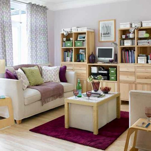 gemutliche einrichtungsideen kleine wohnzimmer, kleine räume einrichten: 50 coole bilder! - archzine, Ideen entwickeln