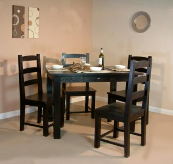Kleiner Esstisch Holz ~ Kleine Räume einrichten 50 coole Bilder!