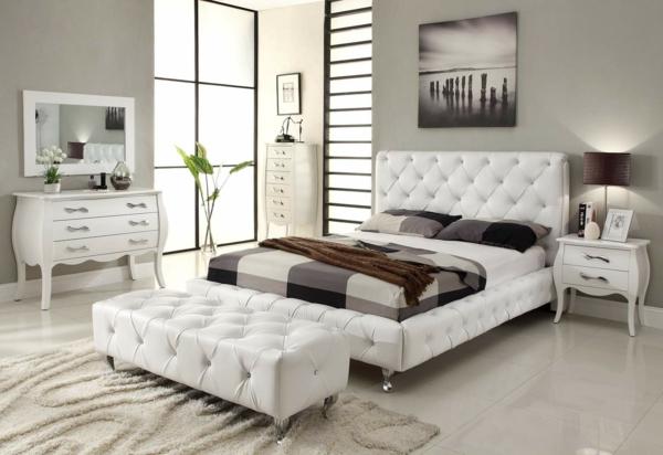 Modernes Schlafzimmer Einrichten   99 Schöne Ideen!   Archzine, Schlafzimmer  Entwurf