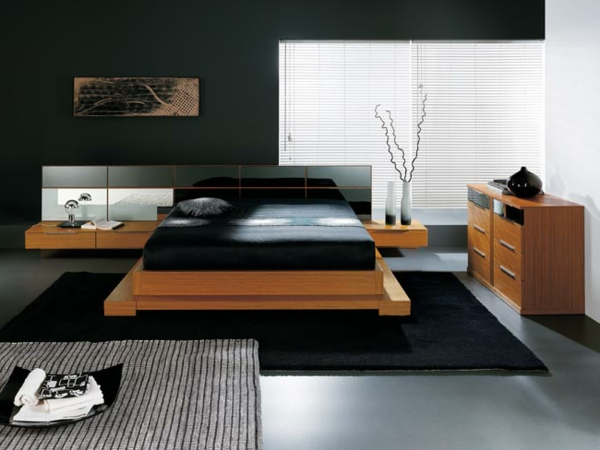 kleines-Schlafzimmer-einrichten-schöne-Ideen-Schlafzimmer-Set-