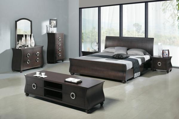 kleines-Schlafzimmer-einrichten-schöne-Ideen-Schlafzimmer-Set-Minimalistisches-Design