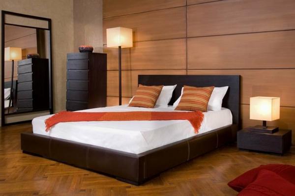 kleines-Schlafzimmer-einrichten--schöne-Ideen-Schlafzimmer-Set