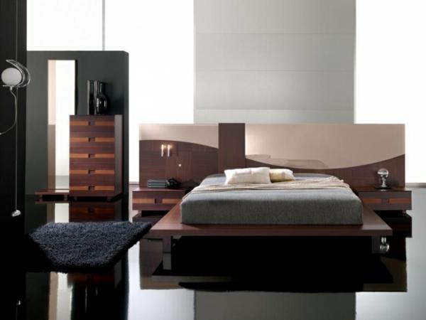 kleines-Schlafzimmer-einrichten--schöne-Ideen--Schlafzimmer-Set